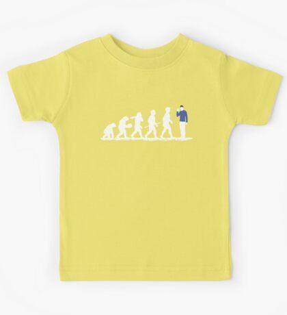 Evolution Spock! Kids Tee