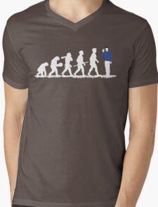 Evolution Spock! Mens V-Neck T-Shirt