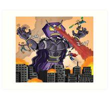 Robot Ramage (TC Adventures) Art Print