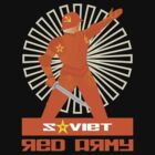 SOVIET RED ARMY WARRIOR by madeofthoughts