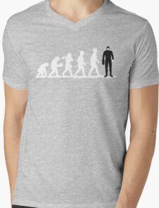 Evolution Borg! Mens V-Neck T-Shirt