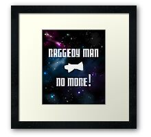 Raggedy Man, No More Framed Print