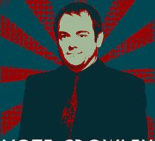 VOTE CROWLEY by nimbusnought