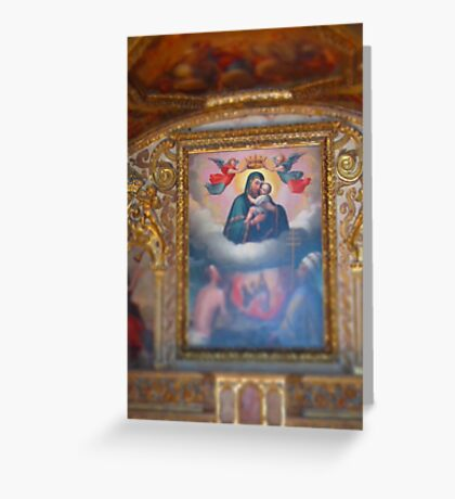 Religious art Greeting Card