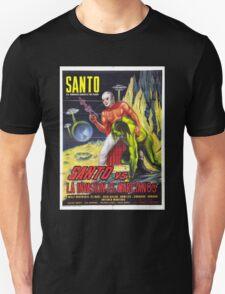 Santo vs. the martian invasion T-Shirt