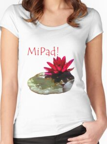 MiPad Clothing & Stickers Women's Fitted Scoop T-Shirt