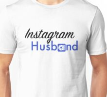 Instagram Husband - Cursive 2 Unisex T-Shirt