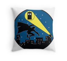 The Doc Knight  Throw Pillow
