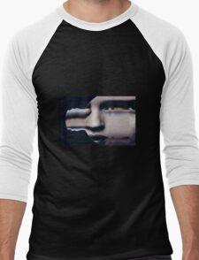 Weird Face  Men's Baseball ¾ T-Shirt
