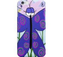The Butterfly With An Attitude iPhone Case/Skin