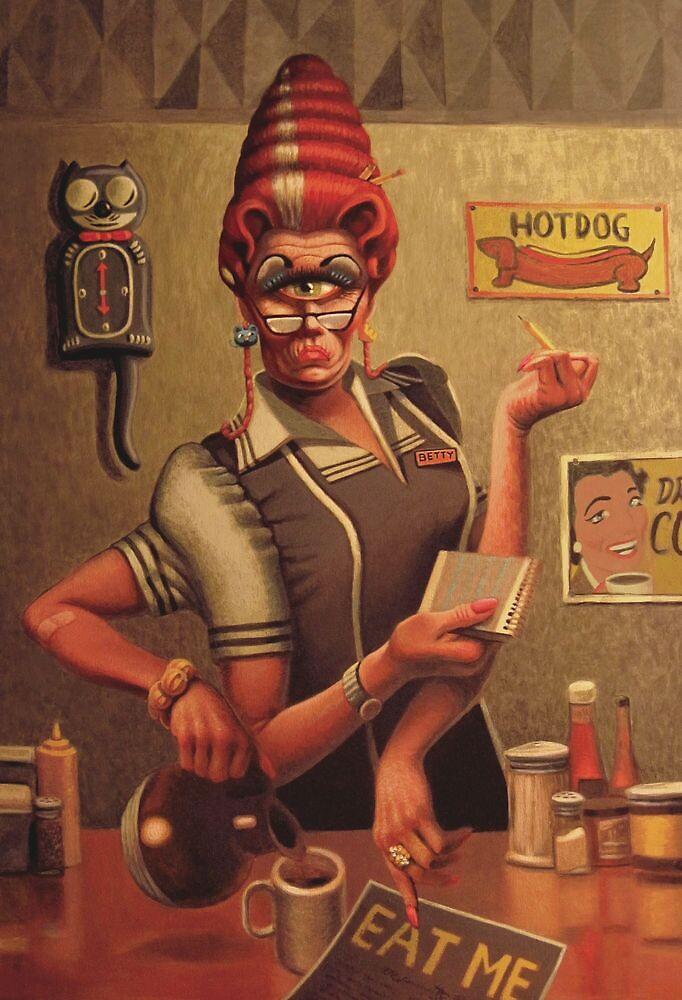 Diner Betty by FrankWermuth