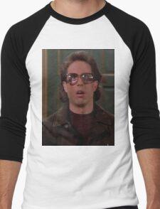 Jerry Seinfeld Glasses Men's Baseball ¾ T-Shirt