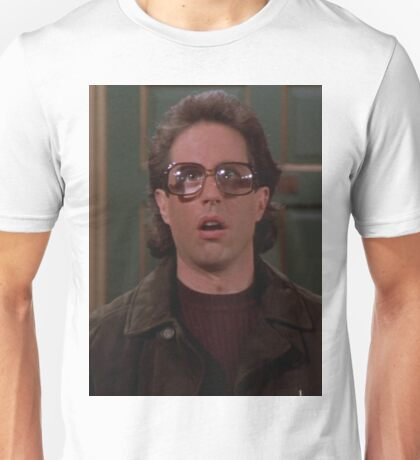 Jerry Seinfeld Glasses Unisex T-Shirt