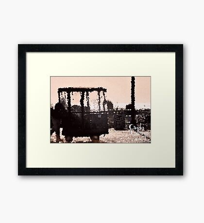 Boardwalk . . . Framed Print