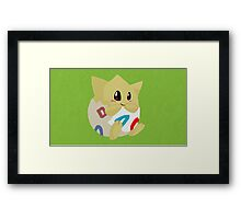 Toge Paint Framed Print