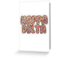 Kappa Delta Sprinkles Greeting Card