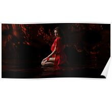 Dark Dreams  In Red Silk 2 Poster