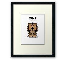 Mr. T Framed Print