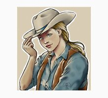blonde cowgirl Unisex T-Shirt