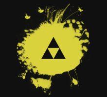 Triforce (Zelda) Grafitti Kids Tee