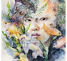 Kris (EXO) inspirated portrait by YoyoMiyoko