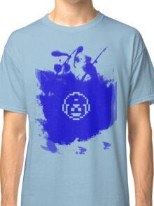 Blue Bomber (Mega Man/Rockman) Grafitti Classic T-Shirt
