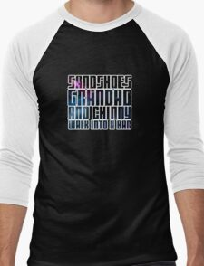 Sandshoes, Grandad and Chinny Men's Baseball ¾ T-Shirt