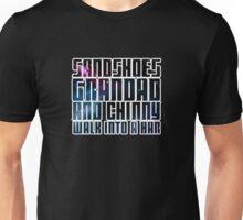 Sandshoes, Grandad and Chinny Unisex T-Shirt
