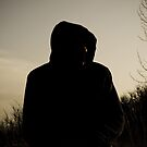 Hooded Silhouette  by Aaron  Fleming