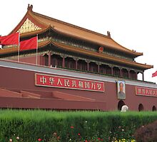 Tiananmen Square by bourboulithra