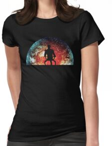 Illusive Man Womens Fitted T-Shirt