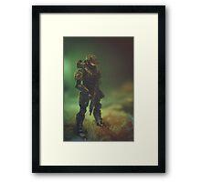 Master C Framed Print