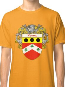 Young Coat of Arms / Young Family Crest Classic T-Shirt