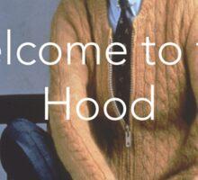 Roger's Hood Sticker
