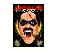 American Psycho Comedian Edition Art Print