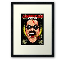 American Psycho Comedian Edition Framed Print