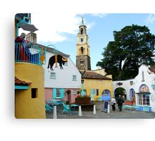 Portmeirion, North Wales  Canvas Print