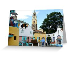 Portmeirion, North Wales  Greeting Card