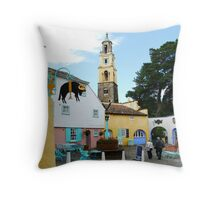 Portmeirion, North Wales  Throw Pillow