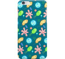 Microbe party iPhone Case/Skin