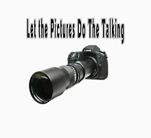 ♂ ♀ ∞ ☆ ★ PHOTOGRAPHERS APPAREL-Camera  With Telephoto Lense T-Shirt-JOURNAL,PILLOWS,ECT. ♂ ♀ ∞ ☆ ★ Men's Baseball ¾ T-Shirt