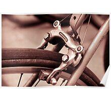 Sepia Bike Poster