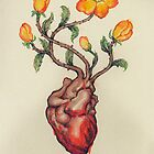 This Blossoming Bleeding Heart by AlexKujawa