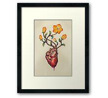 This Blossoming Bleeding Heart Framed Print