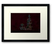Engineered point of view Framed Print