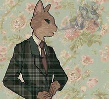 Monsieur Chat by V Maund