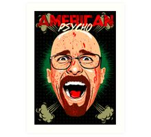 American Psycho Heisenberg Edition Art Print