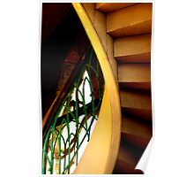 The Light on the Staircase Poster