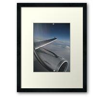 Airplane engine Framed Print