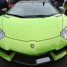 Green Lamborghini by Vicki Spindler (VHS Photography)